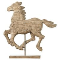 A&B Home Defiance Medium Polyresin Spirited Horse Figurine