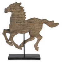A&B Home Defiance Large Polyresin Spirited Horse Figurine