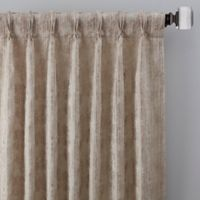 Drift 108-Inch Pinch Pleat Window Curtain Panel in Natural
