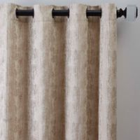 Drift 95-Inch Grommet Window Curtain Panel in Natural