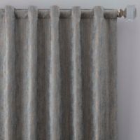 Drift 95-Inch Rod Pocket/Back Tab Window Curtain Panel in Misty Blue