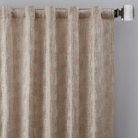 Drift 95-Inch Rod Pocket/Back Tab Window Curtain Panel in Natural