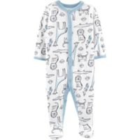 carter's® Preemie Safari Animal Footie in Blue