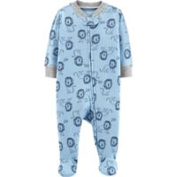 carter's® Preemie Lion Footie in Blue