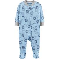 carter's® Newborn Lion Footie in Blue