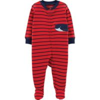 carter's® Size 6M Whale Footie in Red