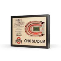 Ohio State University Stadium Views Wall Art
