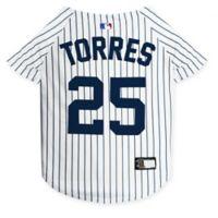 MLB New York Yankees Gleyber Torrers Large Pet Jersey