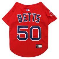 MLB Boston Red Sox Mookie Betts Large Pet Jersey