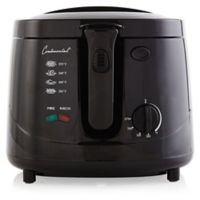 Continental Electric 2.5 qt. Cool Touch Deep Fryer in Black