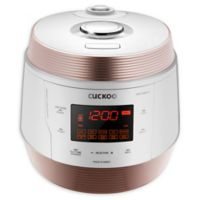 Cuckoo 5 qt. 8 in 1 Electric Multi Pressure Cooker in White