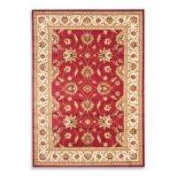 Safavieh Lyndhurst Flower 8-Foot x 11-Foot Room Size Rug in Red