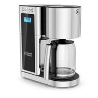 Russell Hobbs Glass Series 8-Cup Coffeemaker in Stainless Steel/Black