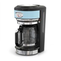 Russell Hobbs Retro Style 8-Cup Coffeemaker in Blue