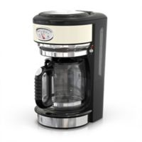 Russell Hobbs Retro Style 8-Cup Coffeemaker in Cream