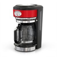 Russell Hobbs Retro Style 8-Cup Coffeemaker in Red