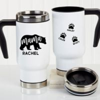 Mama Bear Personalized Commuter Travel Mug