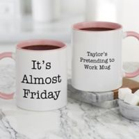 Office Expressions Personalized Coffee Mugs