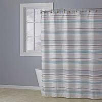 Patricia Shower Curtain in Aqua
