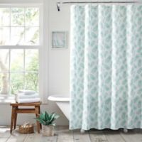 Tommy Bahama® Tossed Pineapple Mineral Shower Curtain
