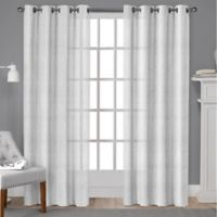 Winfield 84-Inch Grommet Light-Filtering Window Curtain Panel Pair in Winter White