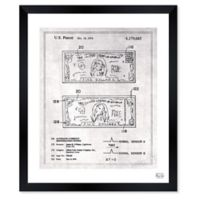 Oliver Gal™ Currency Identification System Paper Framed Print in White