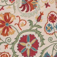 Surya Centennial Floral 2'6 x 8' Handcrafted Runner in Brown/Red
