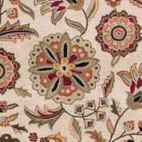 Surya Athena Floral Botanical 2'6 x 8' Hand Tufted Runner in Camel