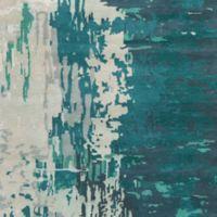 Surya Banshee Modern Hand-Tufted 2'6 x 8' Area Rug in Blue/Green