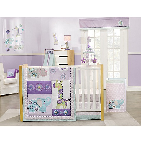 Carter S 174 Zoo Collection 4 Piece Crib Bedding Set Buybuy