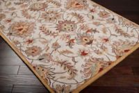 Surya Caesar 2' x 4' Hand-Tufted Accent Rug in Pink/Brown