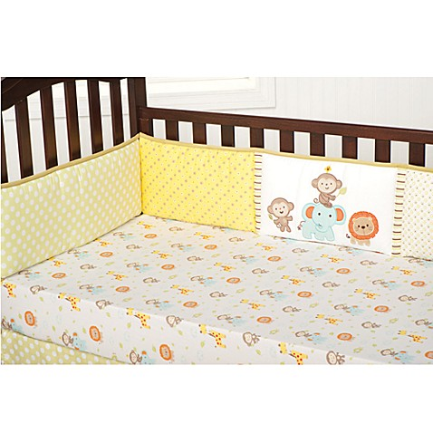 kidsline™ Safari Party Crib Bumper