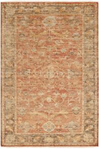 Surya Hillcrest 10' x 14' Area Rug in Tan/Dark Brown
