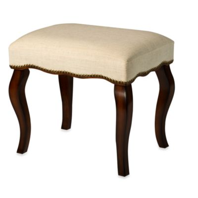 Hillsdale Hamilton Backless Vanity Stool With Nailhead Trim  sc 1 st  Bed Bath u0026 Beyond : vanity stools and benches - islam-shia.org