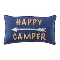 Pendleton Spider Rock Happy Camper Oblong Throw Pillow in Navy