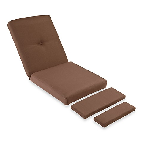 Mix & Match Stratford Wicker Recliner Cushion in Chocolate