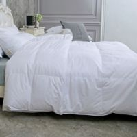 Puredown Year Round Baffle Box Down Full/Queen Comforter in White
