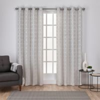 Cressy 96-Inch Grommet Window Curtain Panel Pair in Dove Grey
