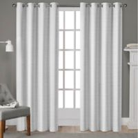 Whitby 84-Inch Grommet Top Window Curtain Panel Pair in Winter White