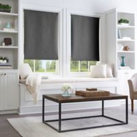 Collins Room Darkening Cordless 31-Inch x 64-Inch Roller Shade in Black