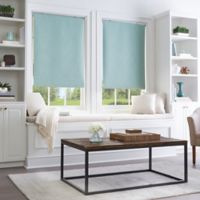Collins Room Darkening Cordless 31-Inch x 64-Inch Roller Shade in Seafoam
