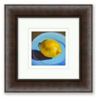 Lemon 12.5-Inch Framed Print Wall Art