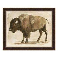 Buffalo 26-Inch x 32-Inch Paper Framed Print