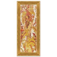 Floral 17-Inch x 41-Inch Paper Framed Print