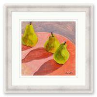 Pears 21.25-Inch Framed Print Wall Art