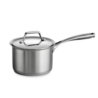 tramontina gourmet prima stainless steel covered 2quart saucepan