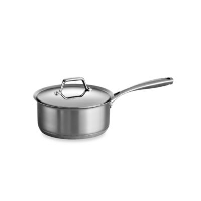 tramontina gourmet prima stainless steel covered 3quart saucepan