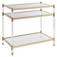 Southern Enterprises© Carllng Acrylic Accent Table in Gold