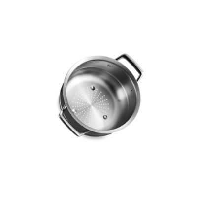 tramontina gourmet prima stainless steel steamer insert for 3quart and 4 quart