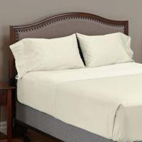 MyPillow® 100% Giza-Egyptian Cotton King Pillowcases in Ivory (Set of 2)